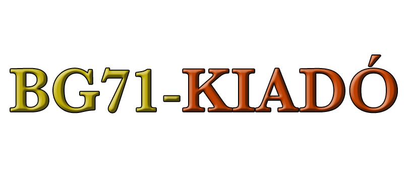 BG71 Kiadó